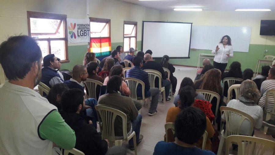 Se brindaron talleres sobre Diversidad en colegios de El Calafate