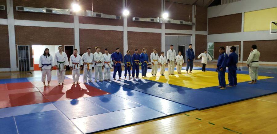 El selectivo de Judo se va alistando para los EPADE 2019