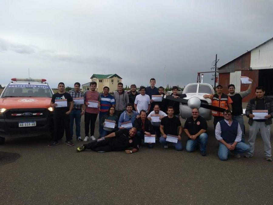 Capacitación para pilotos en el Aeroclub de Río Gallegos