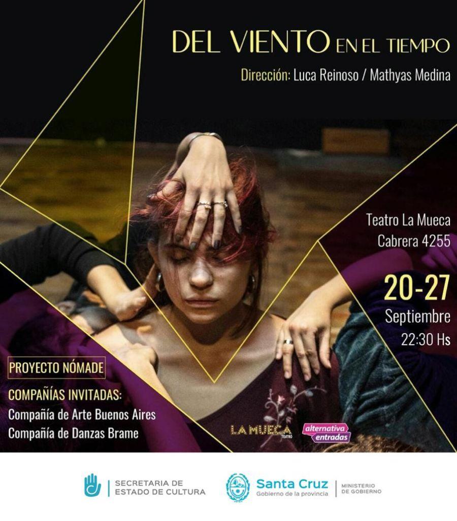 """Artistas santacruceñxs presentan """"Del viento en el tiempo"""" en Buenos Aires"""