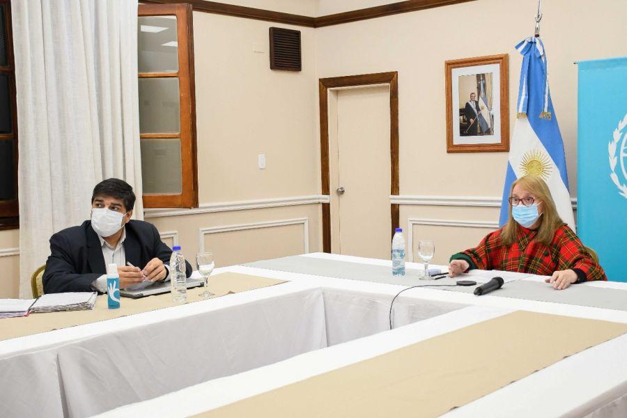 Alicia participó del encuentro de gobernadorxs con autoridades de Salud de la Nación