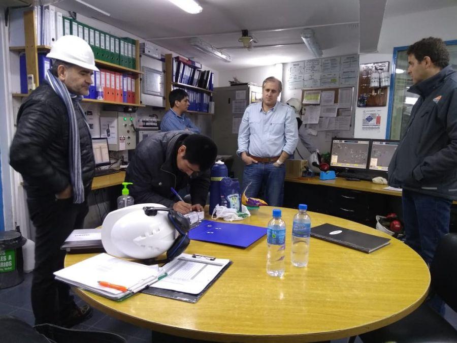 El IESC inspeccionó centrales térmicas en Zona Norte