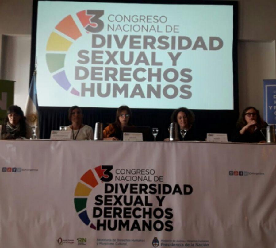 Santa Cruz presente en 3er Congreso Nacional de Diversidad Sexual y Derechos Humanos