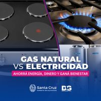 Distrigas destacó y detalló los beneficios del uso del gas natural