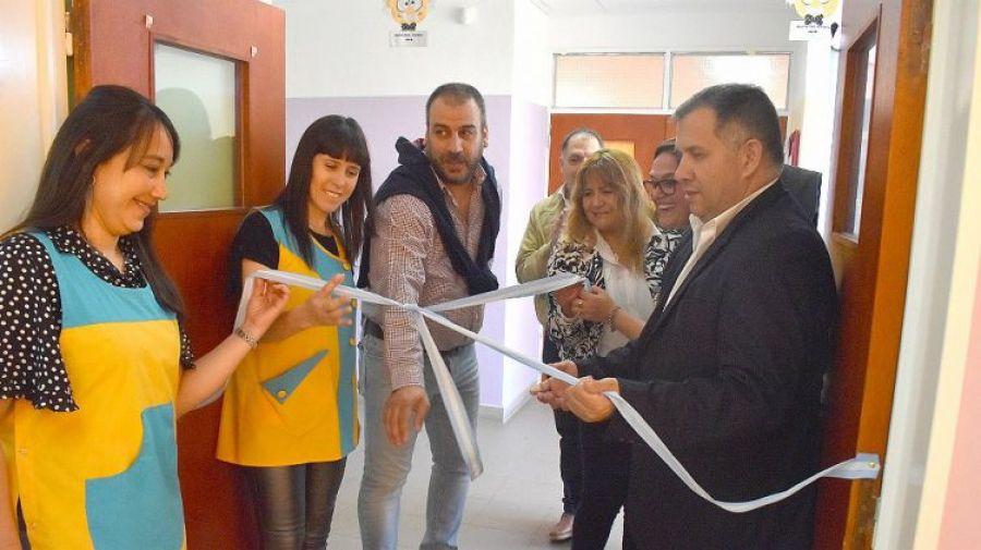 Se inauguró la sala para el Club de Ciencia Yumbrel en Caleta Olivia