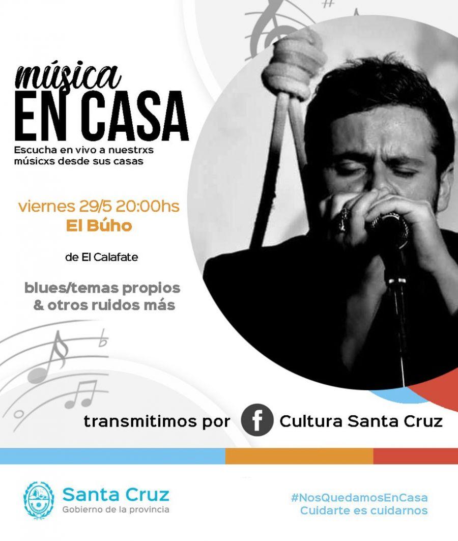 """""""Música en la Casa"""": Transmitirán recitales en vivo durante el fin de semana"""
