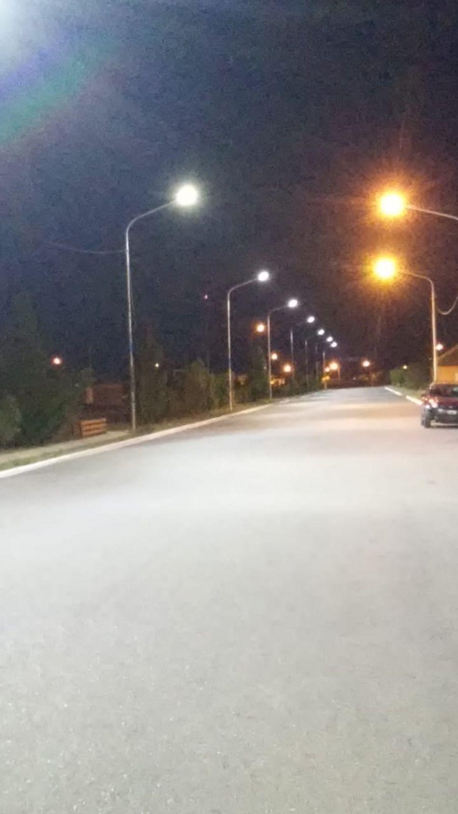 Continúa la mejora de la iluminación en localidades de la provincia