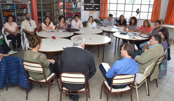 Se realizo la primera reunión de equipo pedagógico del CPE