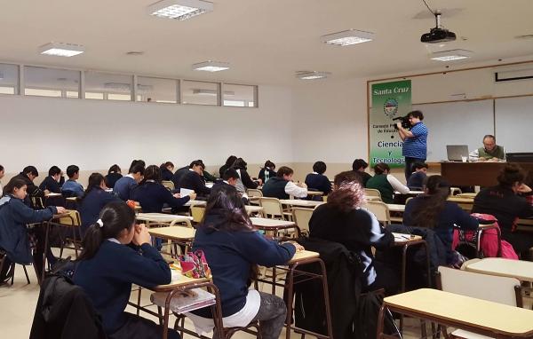 Más de 50 estudiantes participaron de la Olimpiada Matemática de Nivel Mayores