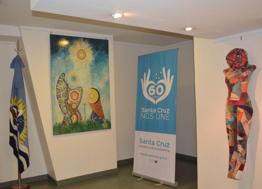 Nueva muestra artística en Casa de Santa Cruz