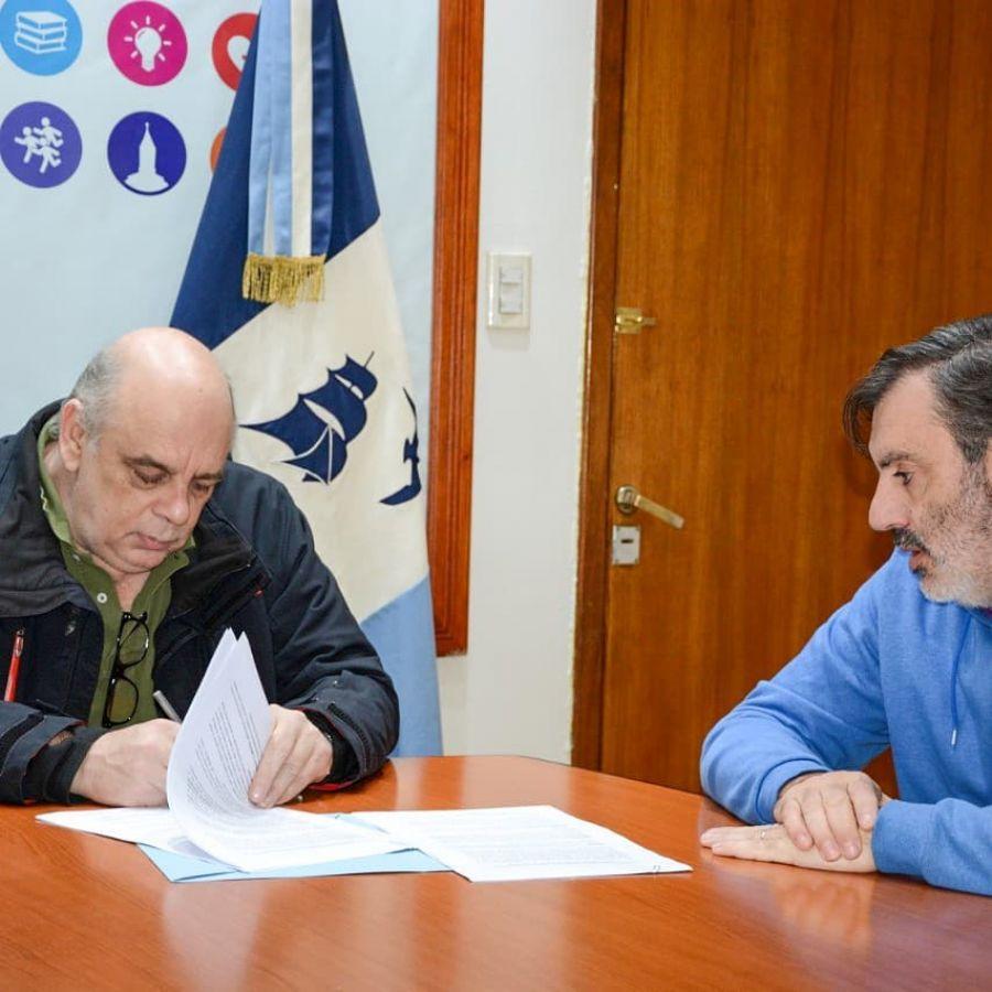 Río Gallegos se suma al convenio para la promoción y el desarrollo deportivo