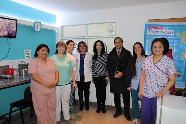 Nuevo sector de lactancia en el Hospital Regional de Río Gallegos