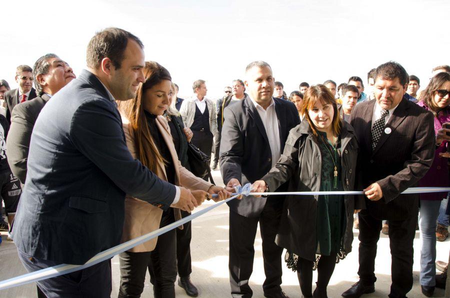 Inauguraron el Centro de Formación Profesional 4 de Caleta Olivia