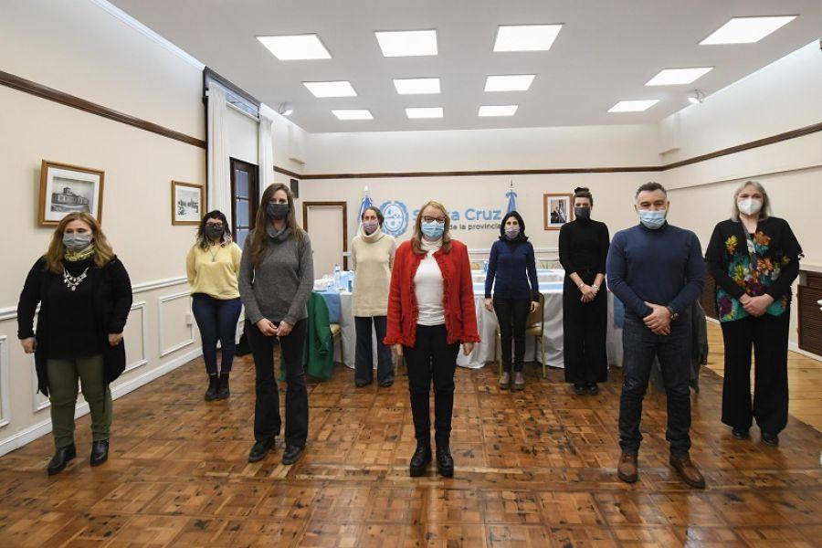 Alicia se reunió con representantes del Ministerio de las Mujeres, Géneros y Diversidad