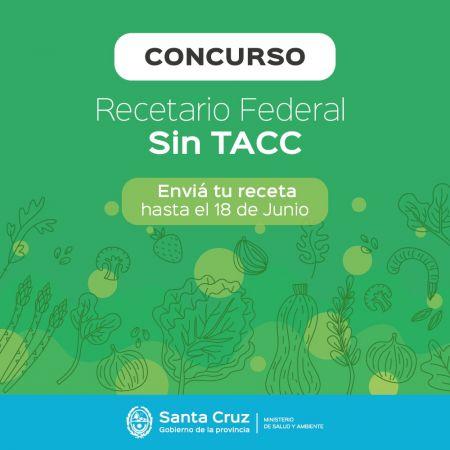 """Primer concurso para la conformación de un """"Recetario Federal sin TACC"""""""