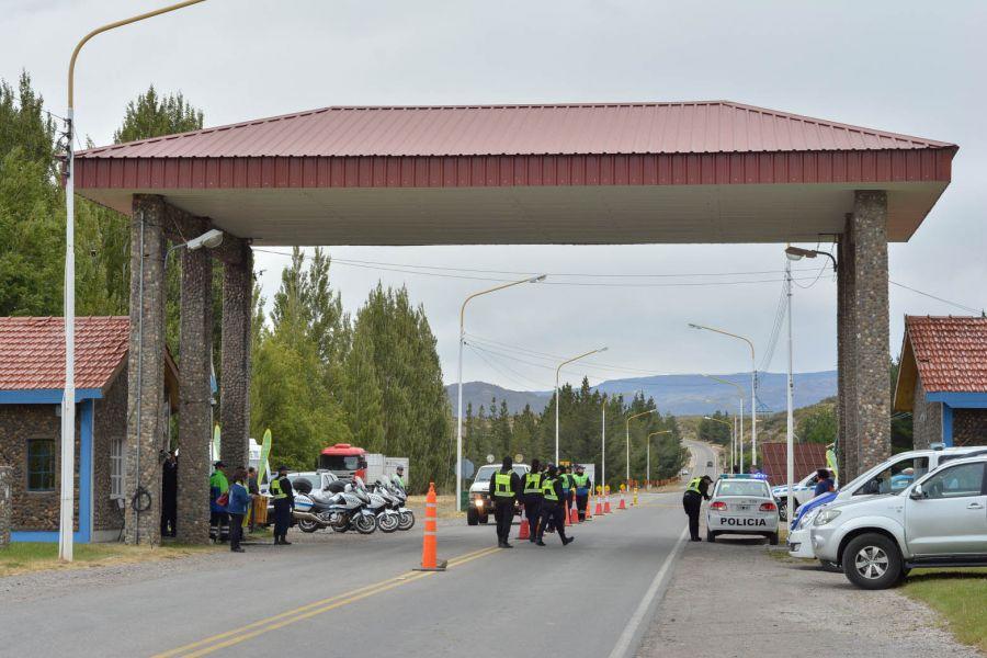 """""""Verano Vivo"""" despliega un amplio operativo preventivo en la Fiesta Nacional de la Cereza"""