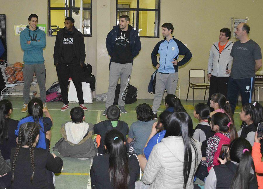 Semana del estudiante 2018: deporte e integración junto a los jugadores de Hispano Americano