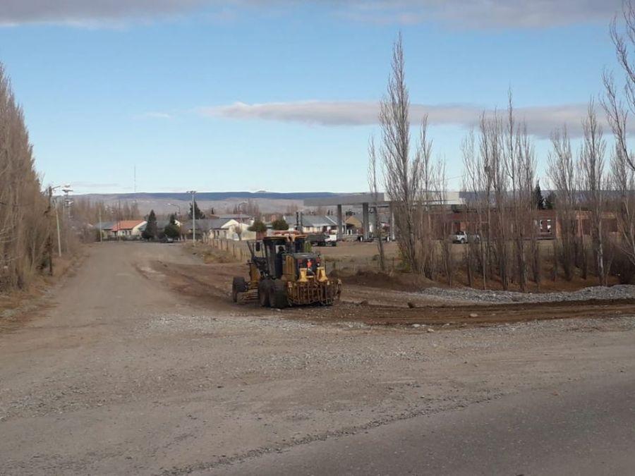 Vialidad Provincial realiza tareas en la localidad de Perito Moreno
