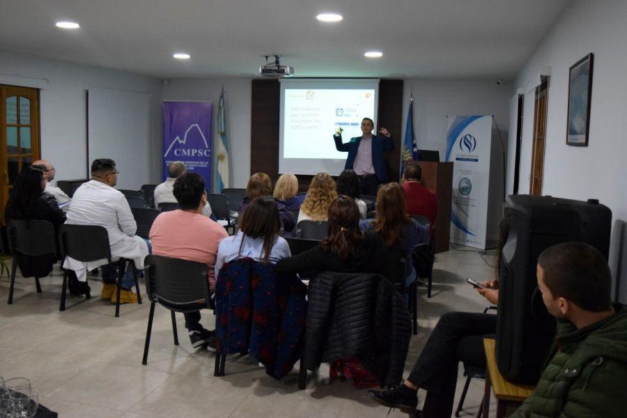 Profesionales de Río Gallegos se capacitaron en EPOC