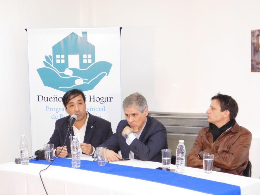 Presentaron sistema informático y programa de regularización habitacional