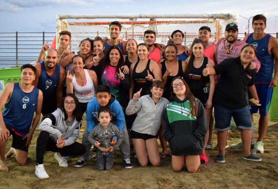 Se jugaron los clasificatorios de los Juegos de playa 2020 en Puerto San Julián