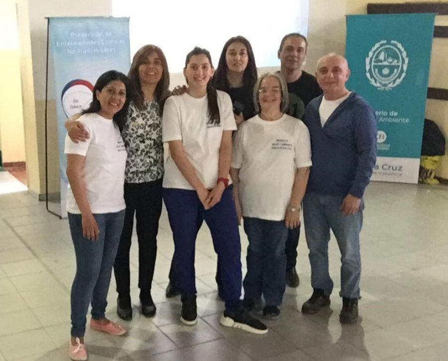 Se concretó charla de prevención del tabaquismo en Puerto San Julián