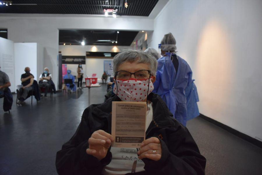 Comenzó la vacunación a mayores de 80 años en Río Gallegos y Caleta Olivia